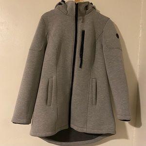 Calvin Klein Thick Grey Gray Jacket, Medium